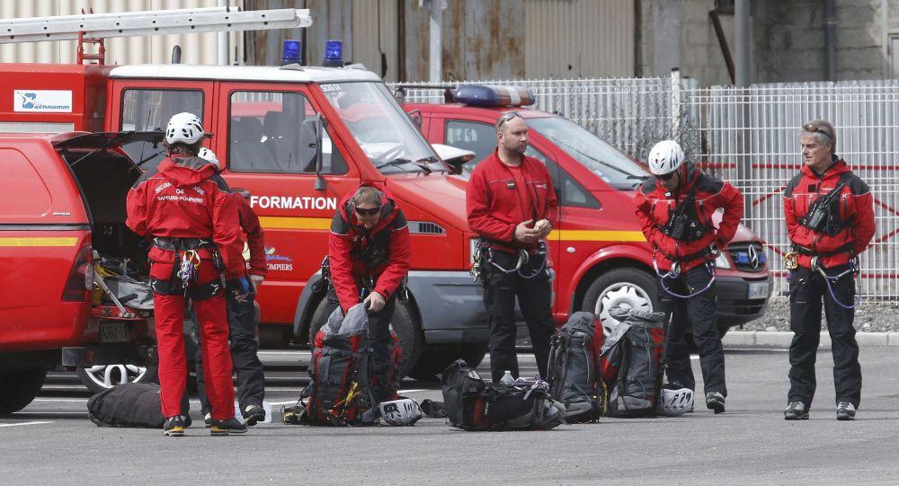 سقوط هواپیما ایرباس در جنوب فرانسه