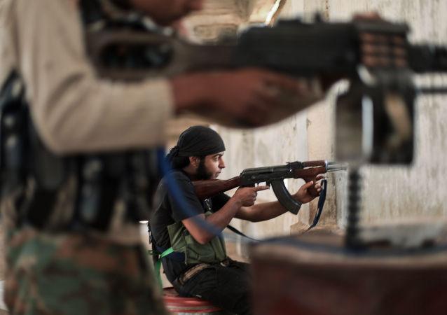 شکار فرماندهان داعش در شهر سیرت توسط یک تک تیرانداز ناشناس