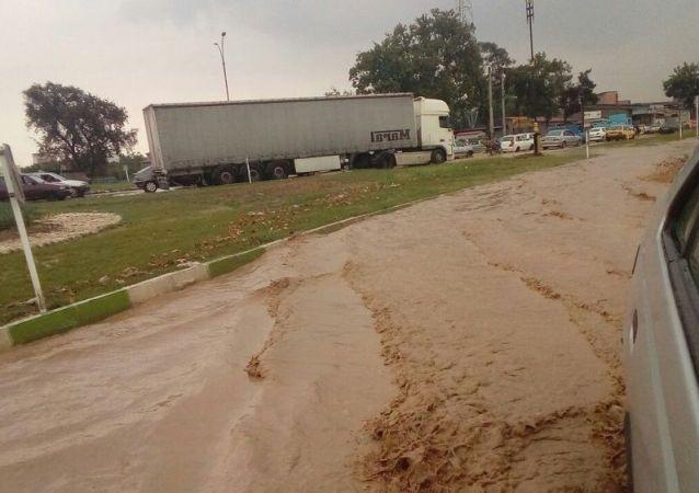 خسارات سیل به شهرها و روستاهای استان گلستان ایران