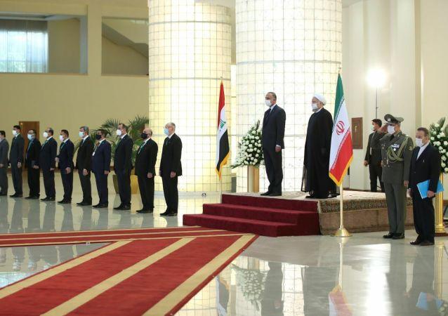 پیغام دست نامرئی در سفر نخست وزیر عراق به تهران