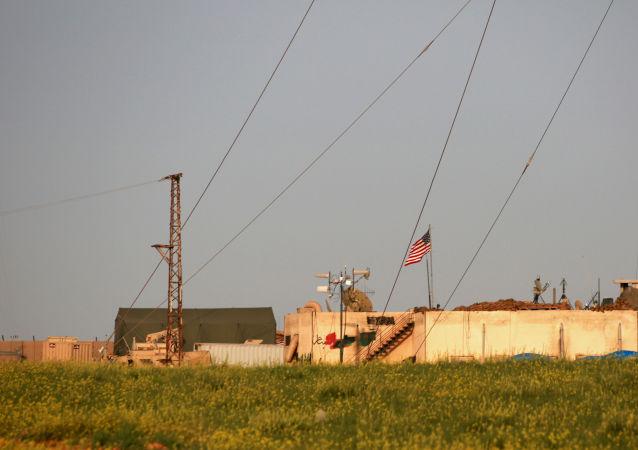 حمله موشکی به پایگاه نظامی آمریکا در سوریه