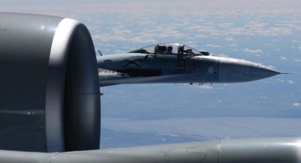 رهگیری هواپیماهای فرانسوی توسط جنگندههای سوخوی روسی