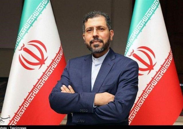 سعید خطیب زاده، سخنگوی وزارت امور خارجه ایران