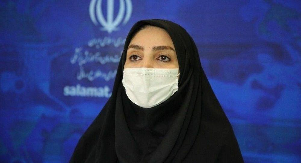 دکتر سیماسادات لاری ، سخنگوی وزارت بهداشت ایران
