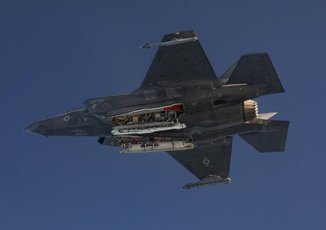 راهکاری برای شناسایی جنگنده اف-35