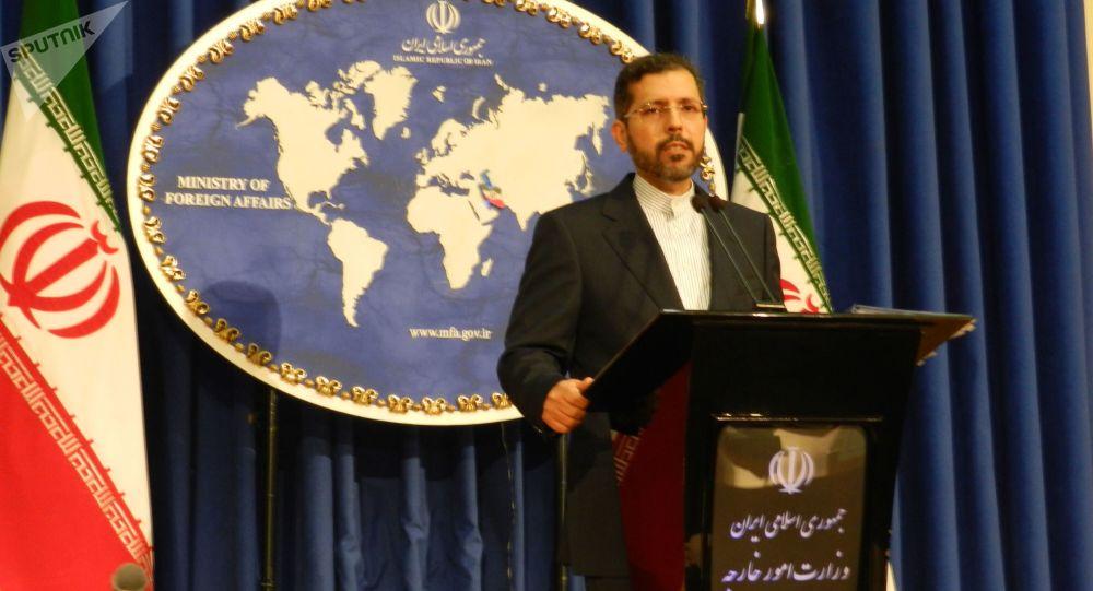 سعید خطیب زاده سخنگوی رسمی وزارت امور خارجه ایران