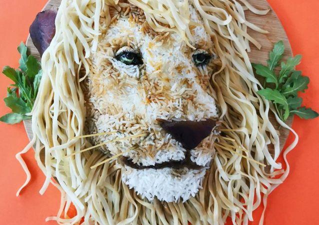 هنر خوراکی یولاندا استوکرمانس از بلژیک