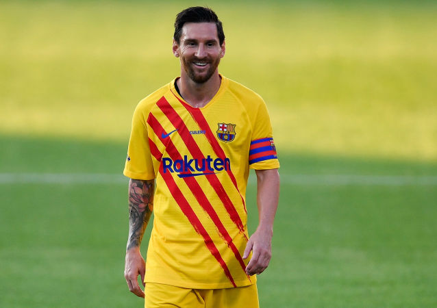 فوتبالیست آرژانتینی لیونل مسی