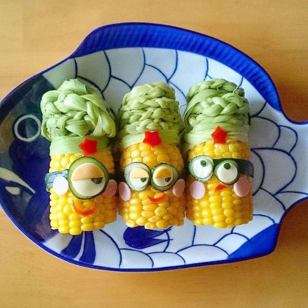 تزئین غذا توسط زن ژاپنی Etoni Mama