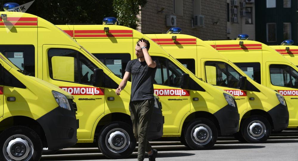 انفجار اتوبوس در وارونژ مصدوم برجای گذاشت