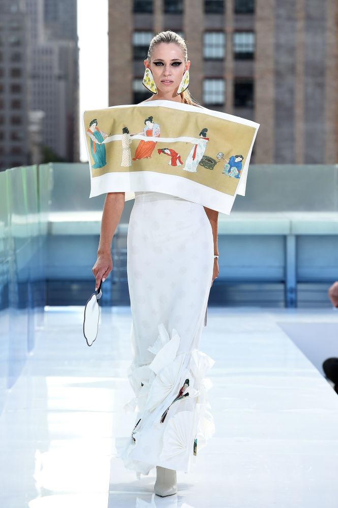 نمایش کلکسیون طراح لباس Oxygeneus در هفته مد نیویورک