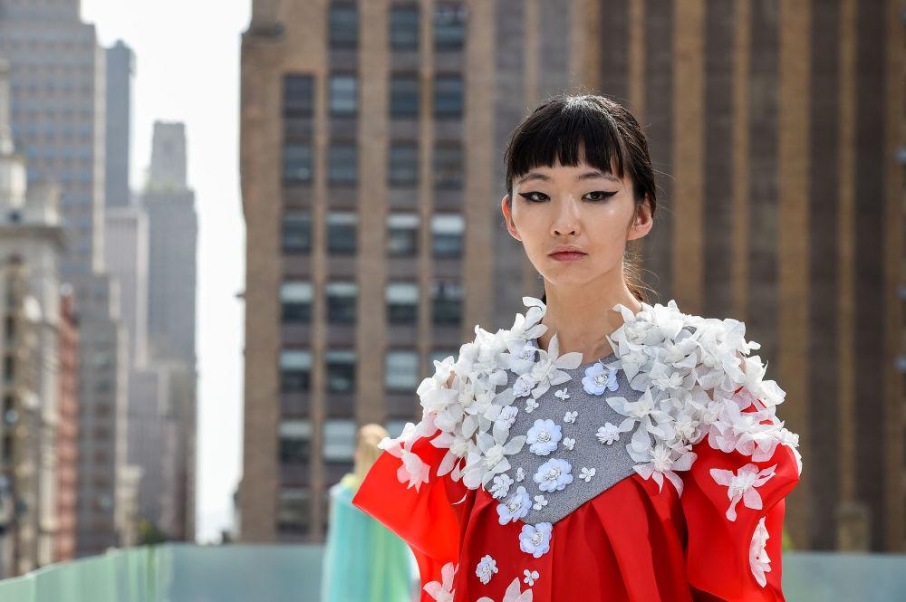 نمایش کلکسیون طراح لباس Elmadawy New York در هفته مد نیویورک
