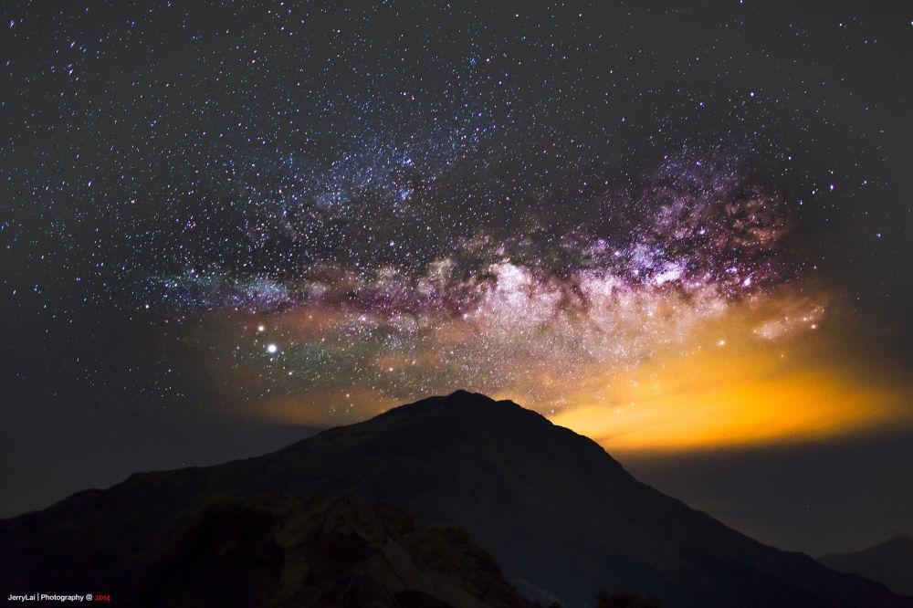 بهترین جا برای تماشای درخشش ستارهها تایوان
