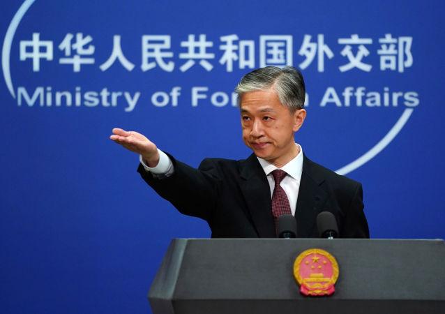 وانگ ون بین سخنگوی وزارت خارجه چین