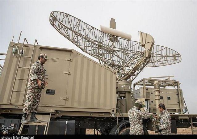 رونمایی از رادار سروش نیروی پدافند هوایی ارتش ایران