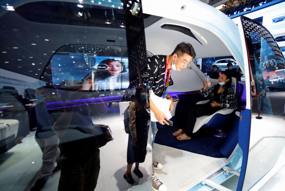 نمایشگاه بینالمللی خودرو در پکن خودرو هنگکی خودکار