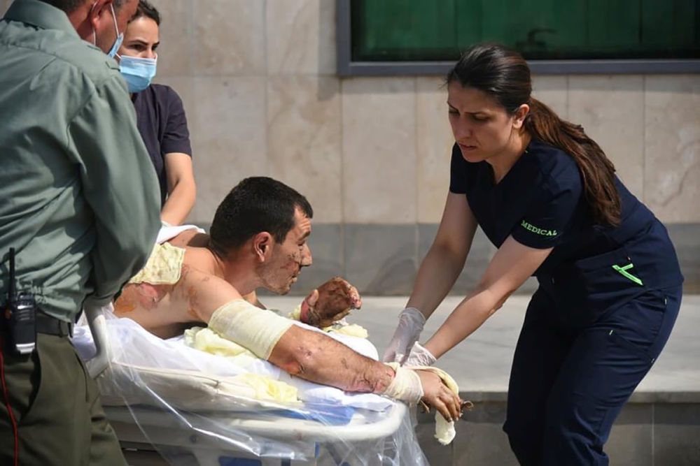 عملیات جنگی نیروهای مسلح آذربایجان و ارمنستان در قرهباغ