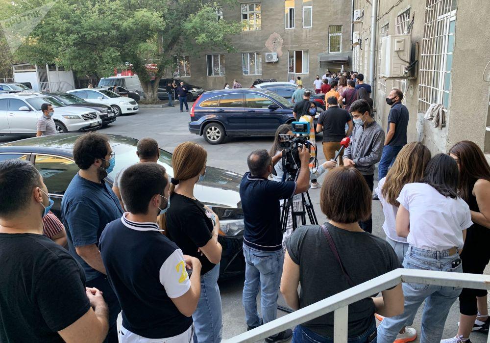 عملیات جنگی نیروهای مسلح آذربایجان و ارمنستان در قرهباغ اهدای خون در ارمنستان