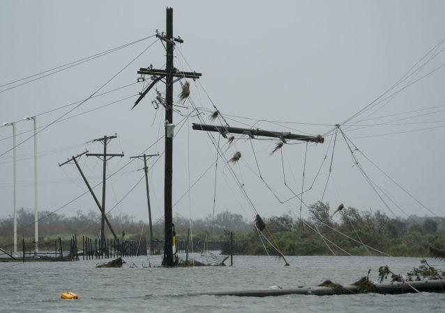 توقف بالاترین میزان تولید نفت آمریکا به دلیل وقوع توفان