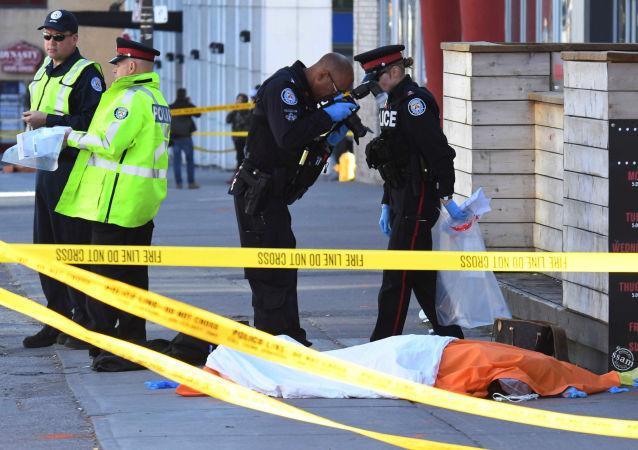 وقوع تیراندازی در شهر تورنتو کانادا