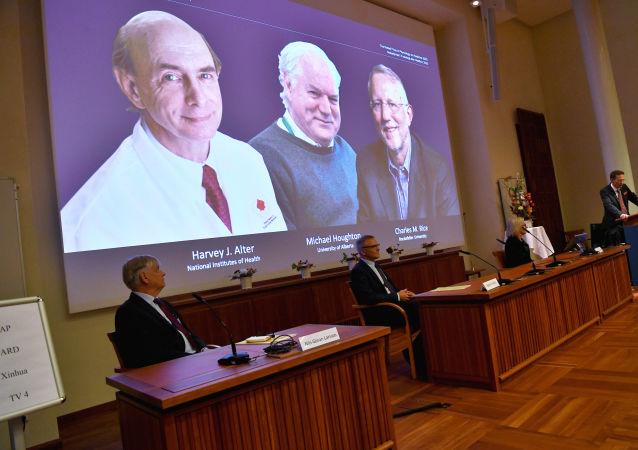 نوبل پزشکی به کشف ویروس هپاتیت C تعلق گرفت