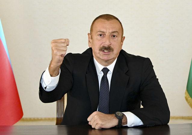 علی اف مدعی قاچاق اسلحه از روسیه به ارمنستان شد