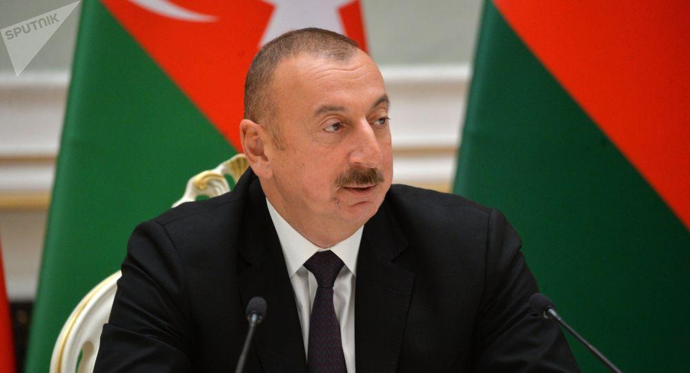 الهام علی اف رئیس جمهور آذربایجان
