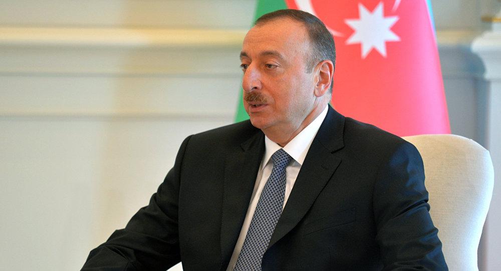تأکید علی اف به همکاری با ایران، روسیه و ترکیه