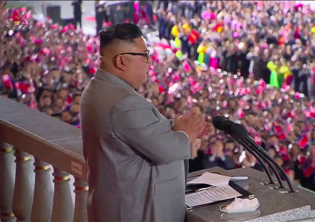 کیم جونگ اون رهبر جمهوری دموکراتیک خلق کره