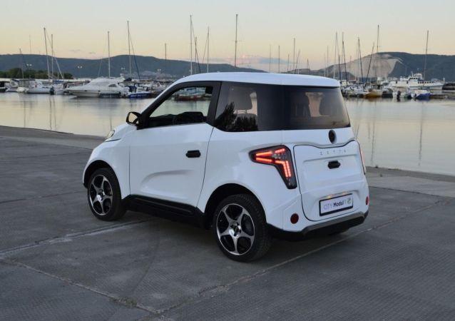 صادرات  اولین خودروی الکتریکی ساخت روسیه + عکس