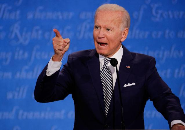 جو بایدن در انتخابات ریاست جمهوری آمریکا رأی داد