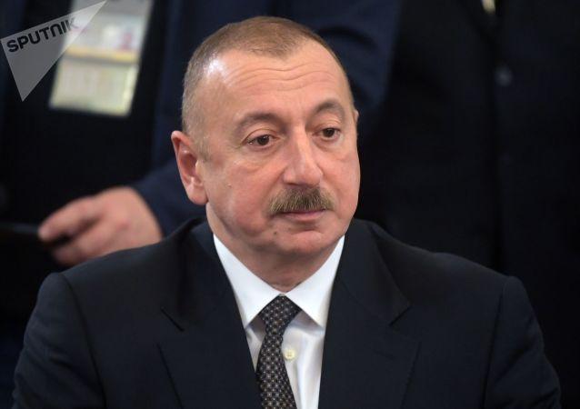 الهام علی اف رئیس جمهوری آذربایجان