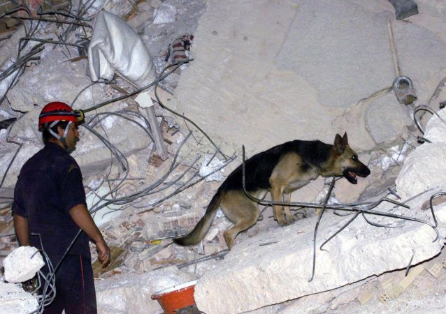 کشته شدن دو کودک بر اثر زلزله در جزیره ساموس یونان