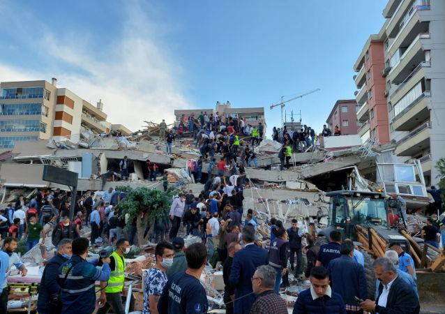 آخرین آمار تعداد مصدومان زمین لرزه در ترکیه