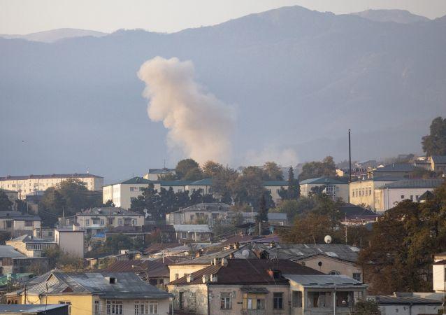 ارمنستان آذربایجان را به گلوله باران مواضع خود در مرز متهم کرد