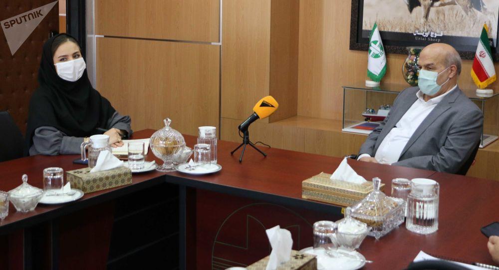 دکتر عیسی کلانتری معاون رئیس جمهور ایران و رئیس سازمان حفاظت از محیط زیست جمهوری اسلامی ایران