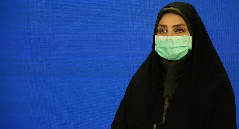 خانم سیما سادات لاری سخنگوی وزارت بهداشت