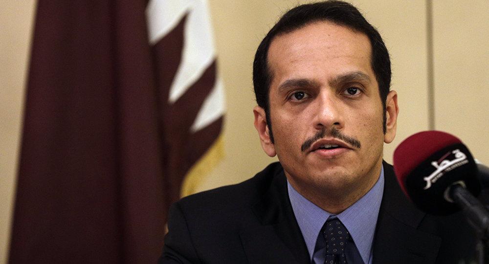 محمد بن عبدرحمان الثانی وزیر امور خارجه قطر