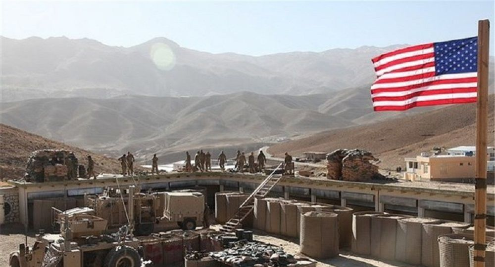 پایگاه ارتش آمریکا در نزدیکی بغداد آتش گرفت