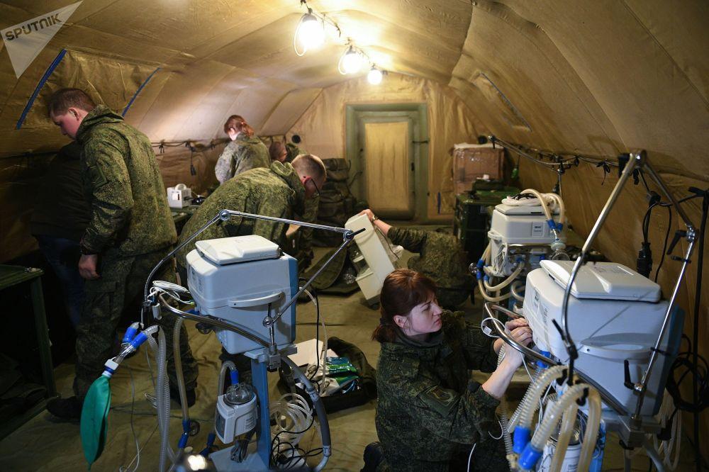 بیمارستان صحرایی روسیه در استپاناکرت