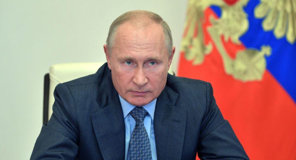 پوتین: برای اقتصاد جهانی سال ۲۰۲۰ پس از جنگ جهانی دوم بدترین سال بود