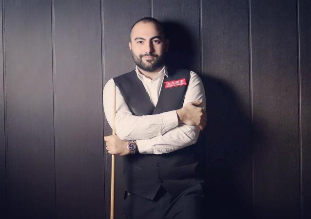 حسین وفایی، اسنوکرباز ایرانی
