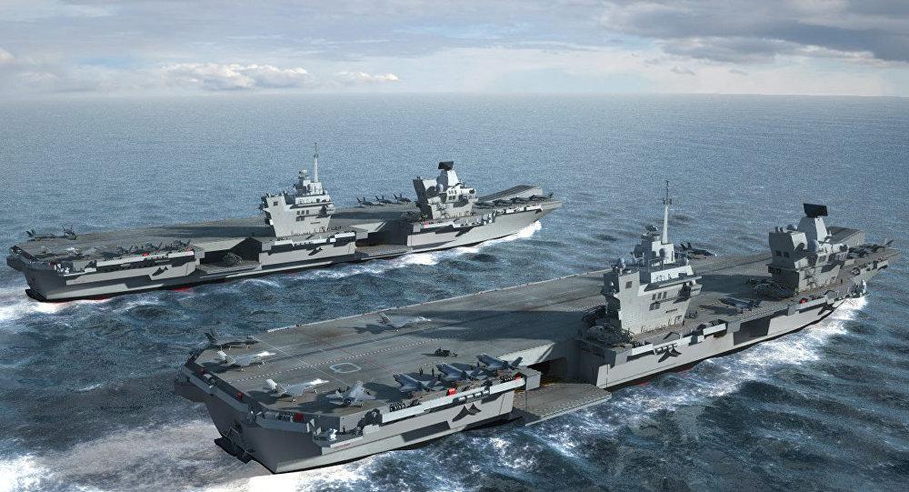 ناو انگلیسی بدون توجه به هشدارهای چین وارد دریایی چین جنوبی شد