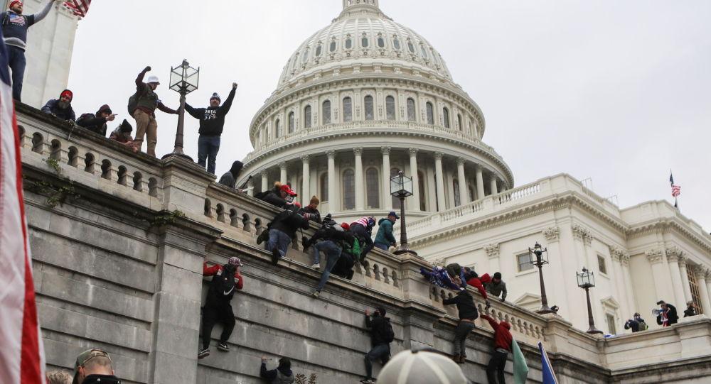 تهدید به بمب گذاری در مجاورت کتابخانه کنگره آمریکا
