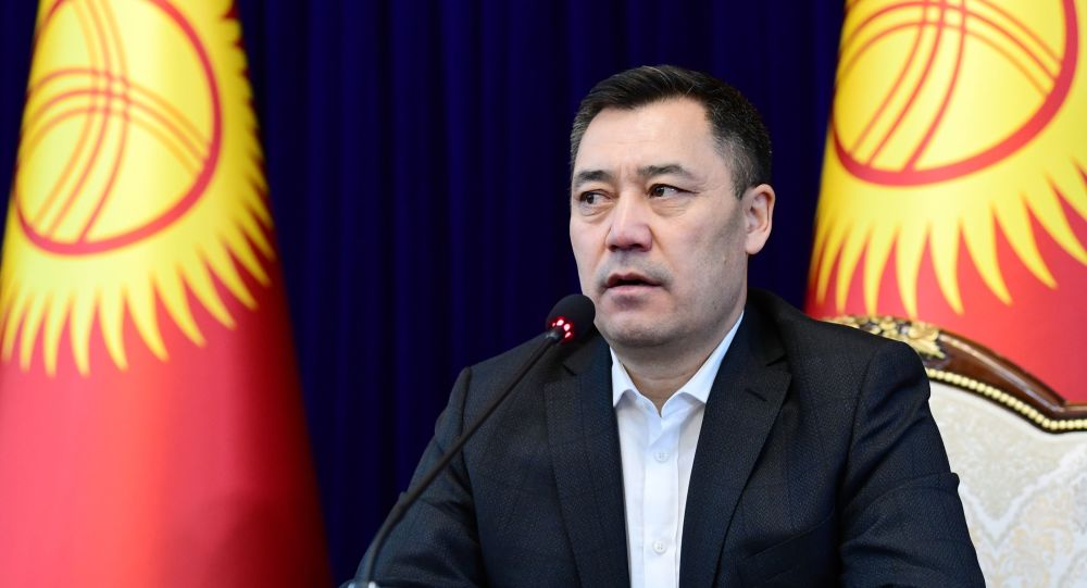 سادیر جپاروف رئیس جمهور منتخب قرقیزستان