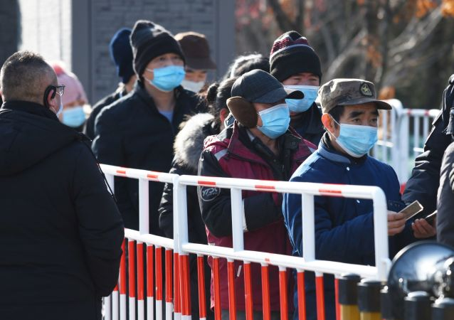 تست های جمعی کرونا در چین