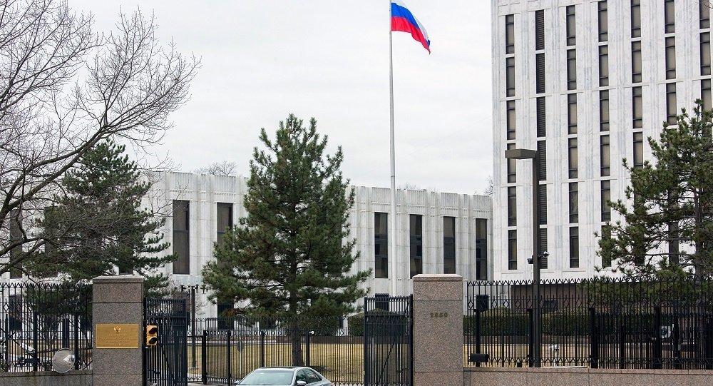 سفارت روسیه در ایالات متحده آمریکا