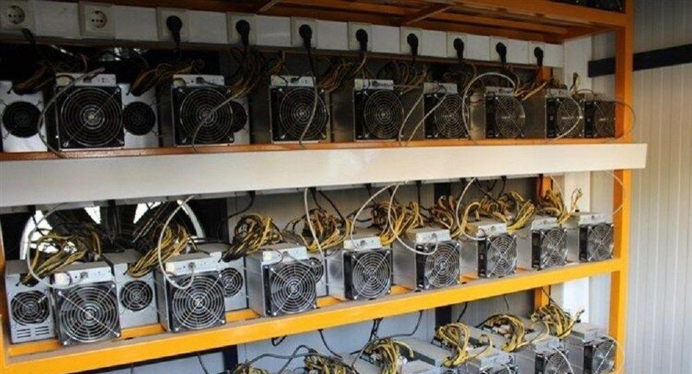 دستگاه های غیرقانونی استخراج ارز دیجیتال در ایران
