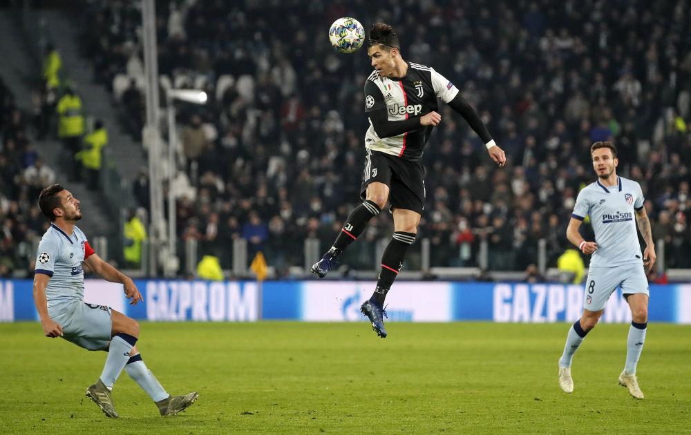 کریستیانو رونالدو در لیگ قهرمانان ایتالیا