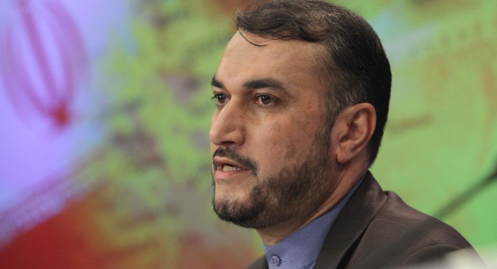 حسین امیر عبداللهیان معاون عربی و آفریقایی وزیر امور خارجه ایران
